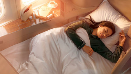 Cathay Pacific Introduces Sensory Journey in First and Business Class Cabins