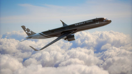 TCS World Travel Announces 2021 Journeys on New Airbus A321neo Private Jet