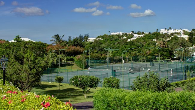 Tennis Anyone, Bermuda Style?
