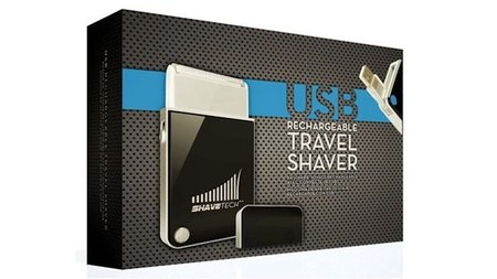 ShaveTech USB Electric Shavers for a Man on the Go