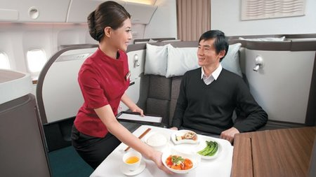 13 Best Airlines for First Class Food in 2013