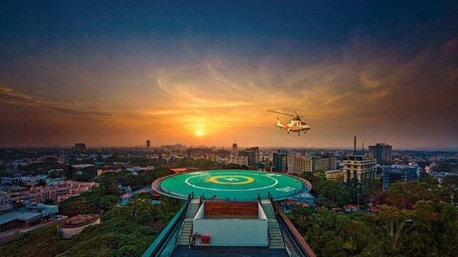 Luxury Hotel Suite Features Its Own Helipad