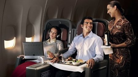 Qantas Awarded Best Wines in the Sky