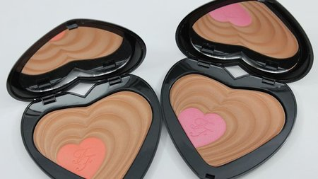 Too Faced Soul Mates Blushing Bronzer for Your Valentine