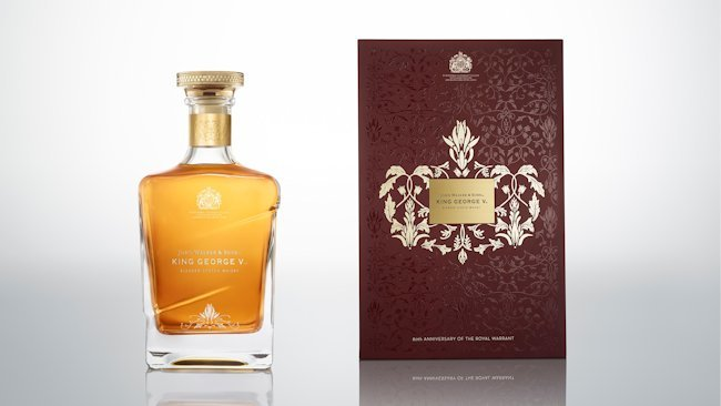 New John Walker & Sons King George V Limited Edition Now Available to Luxury Travelers
