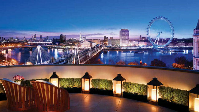London's Top 6 Rooftop Penthouse Hotel Suites