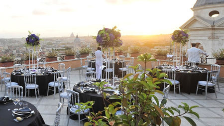 That's Amore! Say 'I Do' at Hassler Roma Overlooking the Spanish Steps and the Eternal City