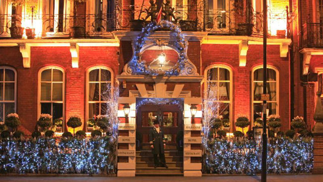 Christmas & New Year's in London at The Milestone Hotel
