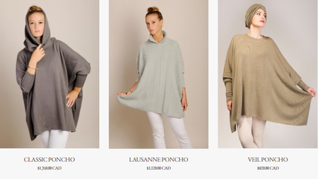 The Perfect Travel Garment: Artigiani Milanesi's Classic Cashmere Poncho