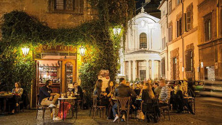 Historical Coffee Houses in Rome