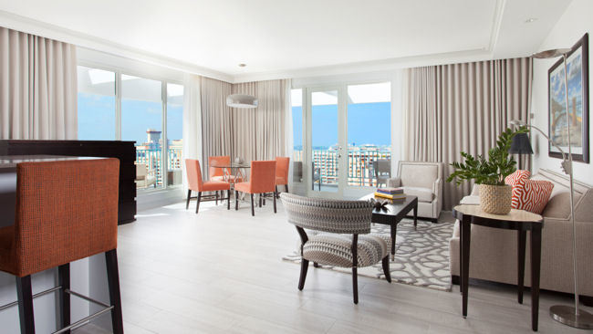 San Juan's Best Views Courtesy of Marriott's New Penthouse Suites