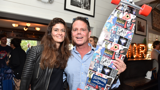 Vilebrequin Unveils Rolling Stones Collection at Launch Party