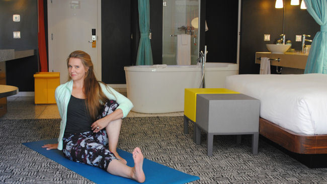 Hotel Valley Ho Launches STAY.ZEN In-Room Yoga Program