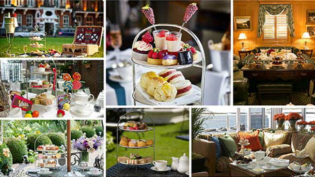 Sample the World's Best Afternoon Teas