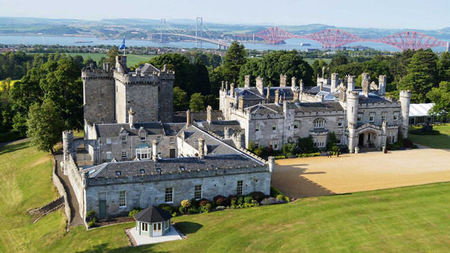 Ladies of Luxury Package at Dundas Castle, Scotland