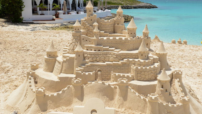 Sand Sculptor Extraordinaire Returns to Cap Juluca, Anguilla