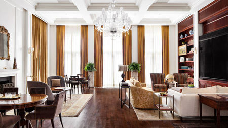 First Look: InterContinental New York Barclay's Harold S. Vanderbilt Sky Suite