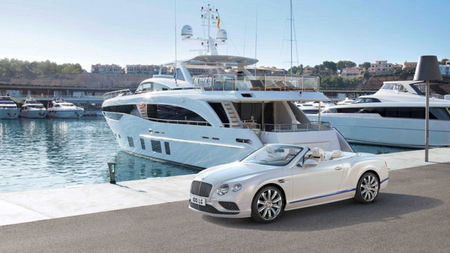Princess Yachts and Bentley Reveal Limited Edition Mulliner in Cannes
