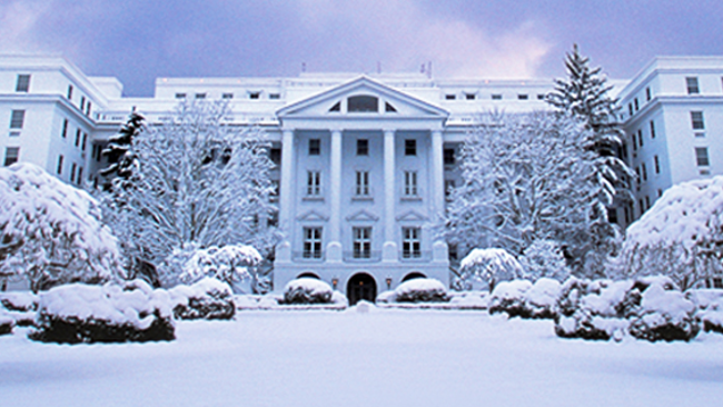 A Magical Wintertime Experience at The Greenbrier