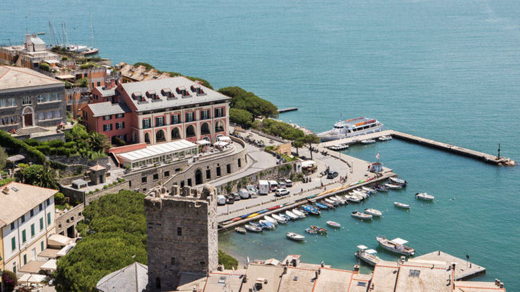 Grand Hotel Portovenere Re-Opens for the Season in Italy's Cinque Terre