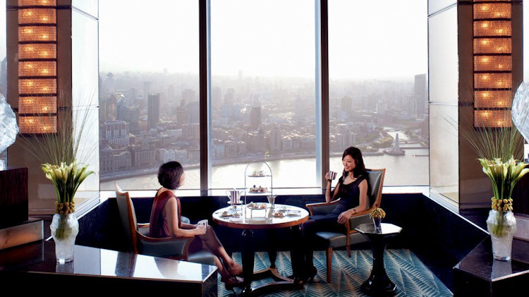 The Ritz-Carlton Shanghai, Pudong Offers Luxurious Scintillating Afternoon Tea Experience