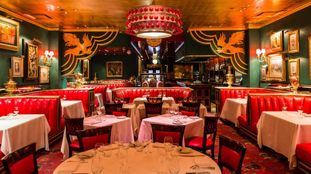 New York's Iconic Russian Tea Room Wows Guests