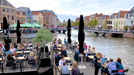 Rembrandt, Canals, Pilgrims and Tulips in The Netherland's Leiden