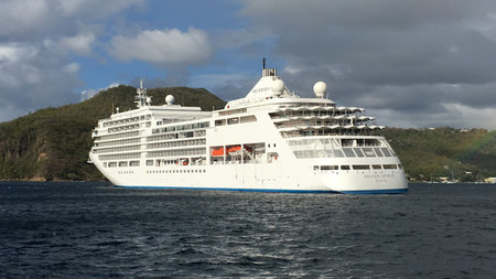 Cruising the Caribbean on Silversea