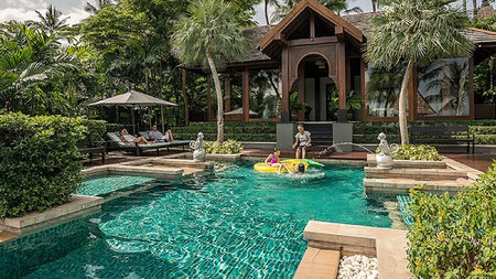 Family Travel Made Perfect at Four Seasons Resort Koh Samui's Private Retreats