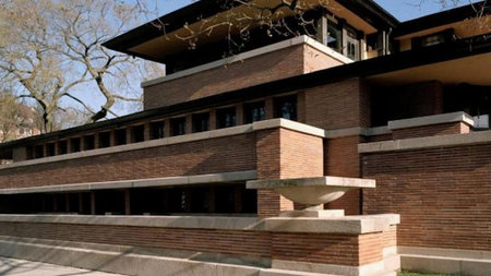 Frank Lloyd Wright & Summer in the City in Chicago