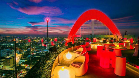 Asia's Must Visit Rooftop Destination for the Champagne Aficionado