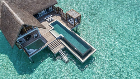 Four Seasons Maldives Adds New Over Water Villas & Lap Pools