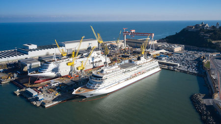 Silver Dawn Float Out: Excitement Builds for the 10th Ship in Silversea's Fleet