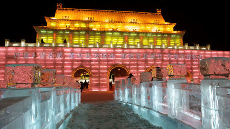 Ice and Snow Festival in China is a World Class Event