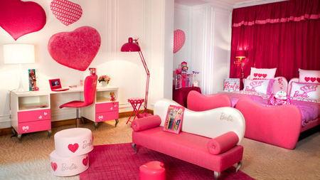 Barbie™ and Hot Wheels™ Rooms at Hôtel Plaza Athénée, Paris