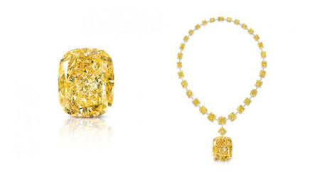 Graff Unveils 132.55 Carat Yellow Diamond