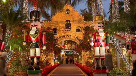 The Mission Inn Hotel & Spa Transforms Into a Winter Wonderland