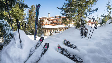 Weekend of Luxury in Courchevel