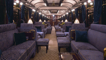 Venice Simplon-Orient-Express Unveils New Bar Car for 2016