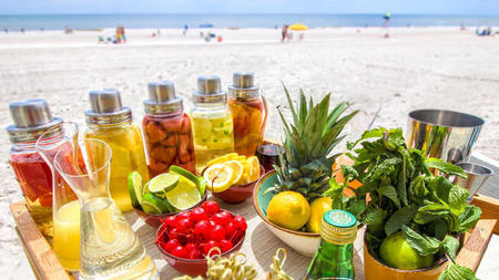 New Poolside Cocktail Infusion Cart Shakes Things Up at Ponte Vedra Inn & Club