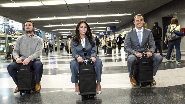 Modobag: World's First Motorized, Rideable Luggage