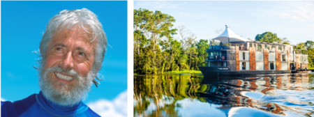 Cruise the Amazon with Expert Environmentalist Jean-Michel Cousteau
