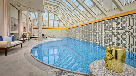 The Ultimate Ritz-Carlton Spa Experience at the Top of the City of Budapest