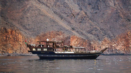 Set Sail from Six Senses Zighy Bay, Oman on Dhahab, the Golden Dhow