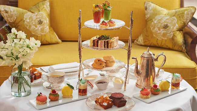 Summer Afternoon Tea at the Conrad London St James