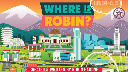 Where is Robin? - Travel Picture Books for Children