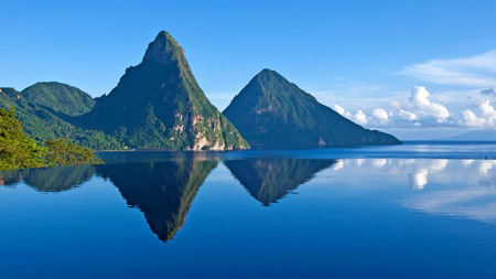St. Lucia's Anse Chastanet and Jade Mountain Resorts Observe Earth Day