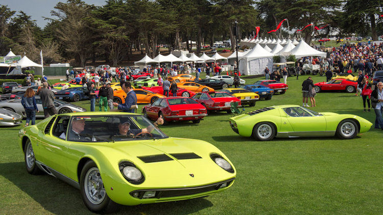 Concorso Italiano Returns for its 33rd Annual Event in Seaside, CA