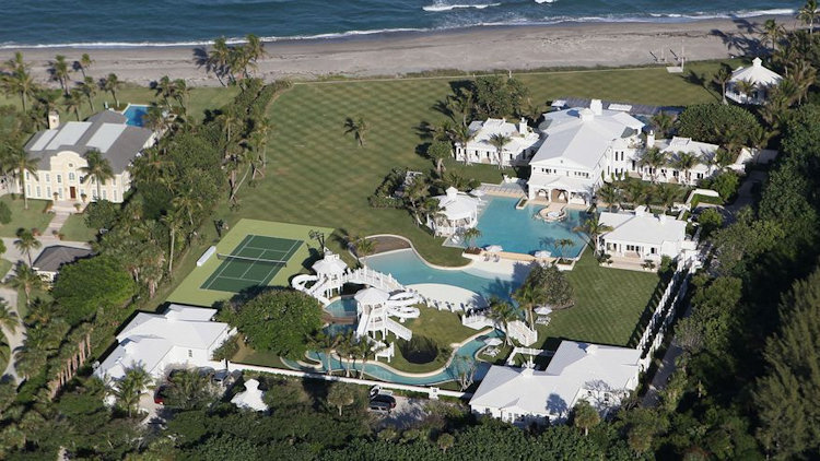 7 Secret Mansions Celebrities Owned by Celebrities