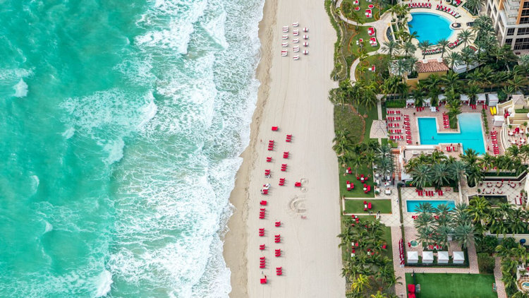 Mercury Jets & Acqualina Resort and Spa 'Fly & Sea' Luxury Experience